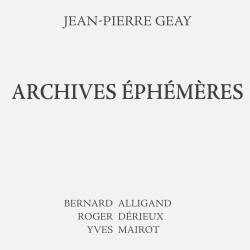 Archives éphémères