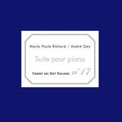 C17 - Suite pour piano